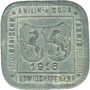 50 Pfennig (ludwigshafen) – avers