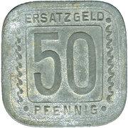 50 Pfennig (ludwigshafen) – revers