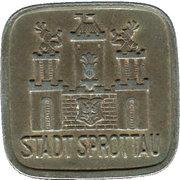 50 Pfennig (Sprottau) [Stadt, Schlesien] – avers