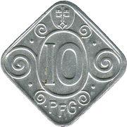 10 Pfennig (Soest) – revers