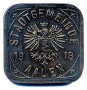 2 Pfennig (Aalen) [ Stadt, Wurttemberg] – avers