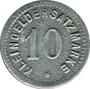 10 Pfennig (Zabern) [Stadt, Elsaß] – revers