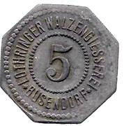 5 Pfennig - Busendorf – avers