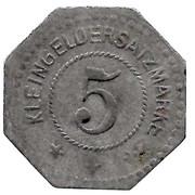 5 Pfennig - Busendorf (Bouzonville (57) – revers