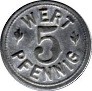 5 pfennig - Colmar (([68]) (Bäcker-Innung)) – revers