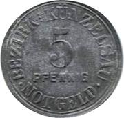 5 Pfennig (Künzelsau) – avers