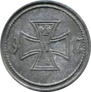 5 Pfennig (Künzelsau) – revers
