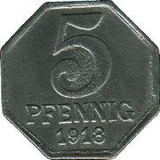 5 Pfennig (Maulbronn) [Oberamtsbezirk, Württemberg] – revers