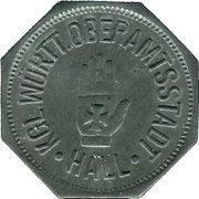 10 Pfennig (Hall [Schwäbisch-]) [Stadt, Württemberg] – avers