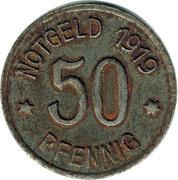 50 Pfennig (Bingen) – revers