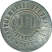 50 Pfennig (Furtwangen) [Stadt, Baden] – avers