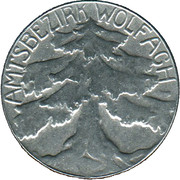 10 Pfennig (Wolfach) [Amtsbezirk, Baden] – avers
