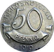 50 Pfennig (Wolfach) [Amtsbezirk, Baden] – revers