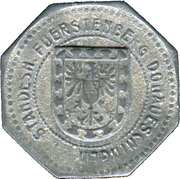 10 Pfennig (Donauschingen) [Standesherrschaft, Baden] – avers