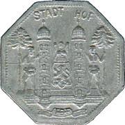 1 Pfennig (Hof) [Stadt, Bayern] – avers