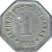 1 Pfennig (Hof) [Stadt, Bayern] – revers
