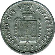 5 Pfennig (Burghausen an der Salzach) [Stadt, Bayern] -  revers