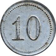 10 Pfennig (Fallingborstel) [Stadt, Hannover] – avers