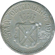10 Pfennig (Oettingen in Bayern) [Stadt, Bayern] – avers