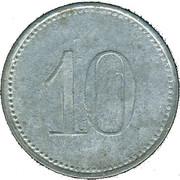 10 Pfennig (Oettingen in Bayern) [Stadt, Bayern] – revers