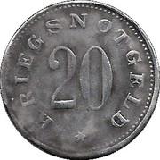 20 Pfennig Zwiesel [Stadt, Bayern] – revers