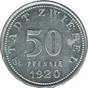 50 Pfennig (Zwiesel) [Stadt, Bayern] – avers