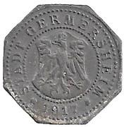 50 Pfennig (Germersheim) [Stadt, Bayern] – avers