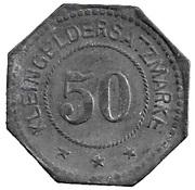 50 Pfennig (Germersheim) [Stadt, Bayern] – revers