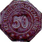 50 pfennig (Germersheim) 1917 – revers