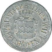 10 Pfennig (Pfaffenhofen am Ilm) [Stadt, Bayern] – avers