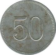 50 pfennig SCHEINFELD – revers