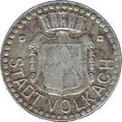 10 Pfennig (Volkach) [Stadt, Bayern] – avers