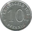 10 Pfennig (Treuchtlingen) [Stadt, Bayern] – revers