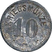 10 Pfennig (Höchstädt) – revers