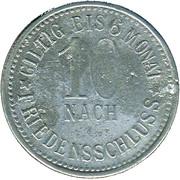 10 Pfennig (Marktleuthen) [Marktgemeinde, Bayern] – revers