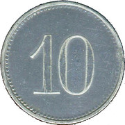 10 Pfennig (Kitzingen) [Stadt, Bayern] – revers