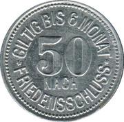 50 Pfennig (Garmisch) [Marktgemeinde, Bayern] – revers