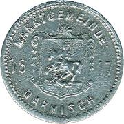 10 Pfennig (Garmisch) [Marktgemeinde, Bayern] – avers