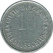 10 Pfennig (Garmisch) [Marktgemeinde, Bayern] – revers