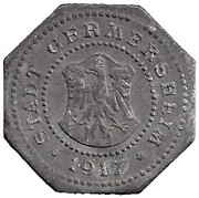 10 Pfennig (Germersheim) [Stadt, Bayern] – avers