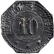 10 Pfennig (Germersheim) [Stadt, Bayern] – revers