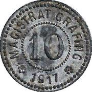 10 Pfennig (Grafing) – avers