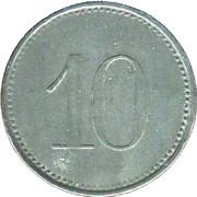 10 Pfennig (Hersbruck) [Stadt, Bayern] – revers