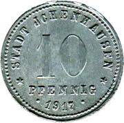 10 Pfennig (Ichenhausen) [Stadt, Bayern] – avers