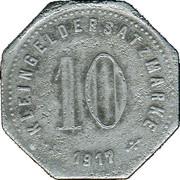 10 Pfennig  (Laufen) [Kommunalverband, Bayern] – revers