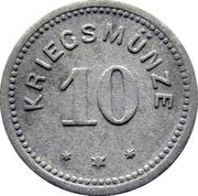 10 pfennig (Kempten) – revers