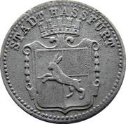 10 pfennig (Hassfurt) – avers