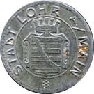 10 Pfennig  (Lohr am Main) [Stadt, Bayern] – avers