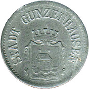 10 Pfennig (Gunzenhausen) [Stadt, Bayern] – avers
