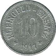 10 Pfennig (Gunzenhausen) [Stadt, Bayern] – revers